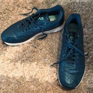 Metallic Teal Nike Air Max Shoes